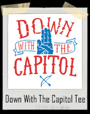 Down With The Capitol Hunger Games T-Shirt
