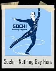 Sochi - Nothing Gay Here Winter OlympicsT-Shirt