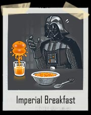 Darth Vader Imperial Breakfast T-Shirt