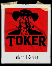 Quaker Toker Oats Marijuana T Shirt