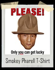 Smokey Pharell Big Hat T-Shirt