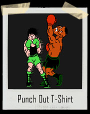 Little Mac Vs Mike Tyson Punch Out T-Shirt