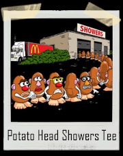 Mr. Potato Head Showers Mc D's Nazi T-Shirt