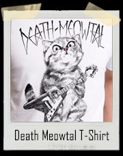 Death Meowtal Cat T-Shirt