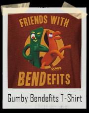 Gumby And Pokey Friends With Bendefits T-Shirt