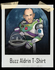 Buzz Aldrin Lightyear - Not A Toy T-Shirt