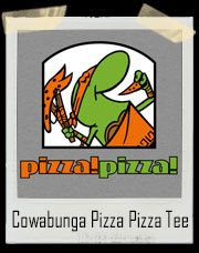 Cowabunga Pizza Pizza Little Caesars T-Shirt