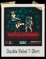 Double Dragon Rebel Fett T-Shirt