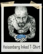 Heisenberg Inked Walter White Breaking Bad T-Shirt