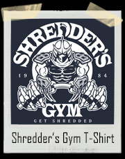 Shredder's Gym TMNT T-Shirt