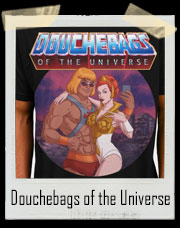 Douchebags of the Universe He-Man and Teela T-Shirt