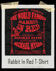 World Famous Rabbit In Red Halloween T-Shirt