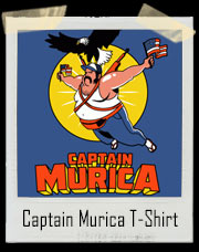 Captain Murica T-Shirt