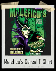 Malefico's Sleeping Beauty Cereal T-Shirt