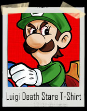 Luigi Death Stare Mario Cart T-Shirt