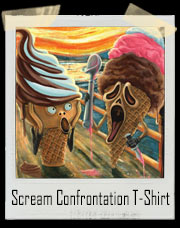 Hot Summer Ice Scream Confrontation T-Shirt