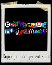 Copyright Infringement With Logos T-Shirt