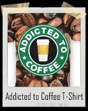 Addicted to Coffee All Over Print T-Shirt