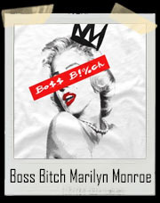 Boss Bitch Marilyn Monroe T-Shirt