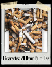 Cigarettes All Over Print T-Shirt