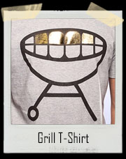 Gold Teeth BBQ Grill T-Shirt