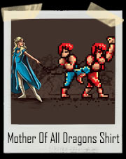 Daenerys Targaryen Double Dragon Game Of Thrones T-Shirt