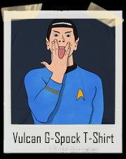 Vulcan Salute Naughty Mr. G-Spock Star Trek T-Shirt
