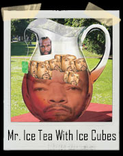 Mr. T Ice Tea With Ice Cubes T-Shirt