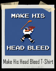 Make His Head Bleed Gretzky NHLPA Swingers T-Shirt