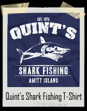 Quint's Shark Fishing T-Shirt From Jaws