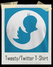 Tweety Bird / Twitter Bird Mashup T-Shirt