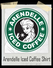 Arendelle's Iced Coffee - Ice Queen Edition Frozen T-Shirt