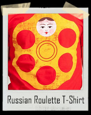 Russian Roulette Girl In The Chamber T-Shirt
