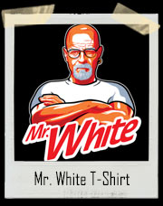 Mr. White Breaking Bad Cleaner T-Shirt