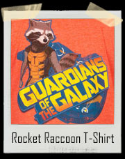 Rocket Raccoon Guardians Of The Galaxy T-Shirt