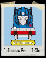 OpThomas Prime Train Transformer T-Shirt