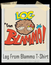 Log From Blammo Ren And Stimpy T-Shirt