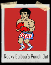 Rocky Balboa's NES Mike Tyson's Punch Out T-Shirt