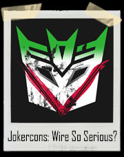 Jokercons: Wire So Serious Transformer Joker T-Shirt