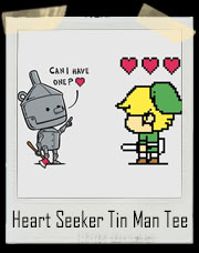Heart Seeker Tin Man Zelda Link T-Shirt