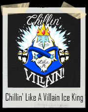 Adventure Time Chillin' Like A Villain Ice King T-Shirt