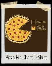 Pizza I'm Gonna Eat Pie Chart T-Shirt