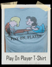 Play On Player - Lucy And Linus Peanuts T-Shirt