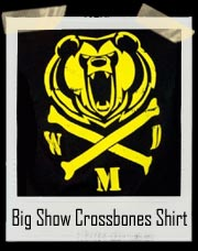Big Show Crossbones Authentic Shirt