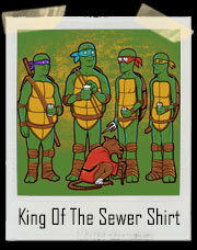 King Of The Hill Ninja Turtles T-Shirt