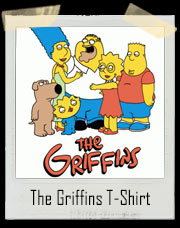 The Griffins Simpsons T-Shirt