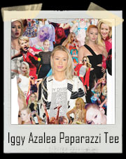 Iggy Azalea Paparazzi - All Over Print T-Shirt