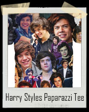 1D Harry Styles Paparazzi - All Over Print T-Shirt