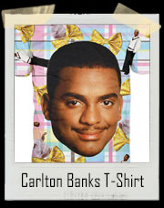 Carlton Banks Fresh Prince All Over Print T Shirt