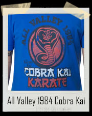 All Valley Cobra Kai 1984 Karate Kid T-Shirt